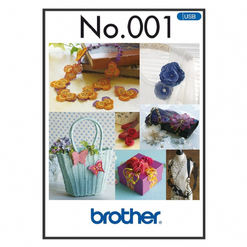 Brother Embroidery Sewing Machine Memory USB Stick BLECUSB1 Combination Motifs A090.USB1